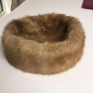 Marshall Fields & Company Mink Hat.